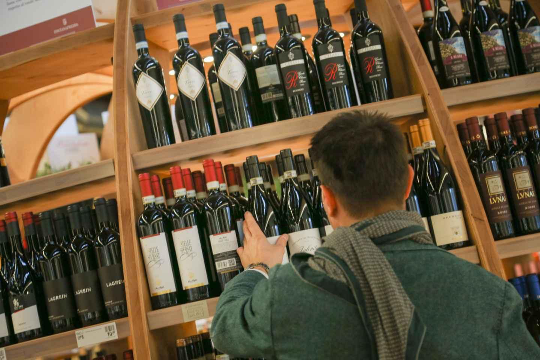 Bologna: FICO-Ticket mit Weinklasse & Luna Farm
