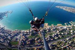 De Beirute: 30 minutos de experiência de parapente em Jounieh