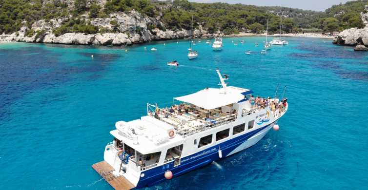 Menorca: Coves and Beaches Sailing Trip with Paella Lunch