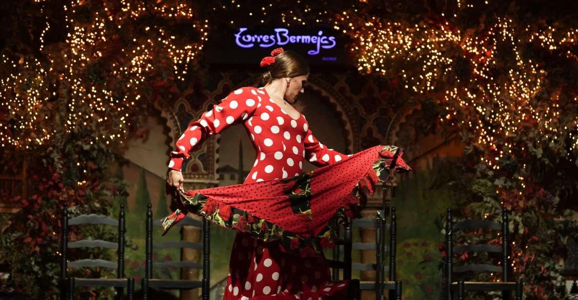 Madrid: espectáculo de flamenco con opciones culinarias