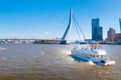 Rotterdam: 90-Minute Harbor Cruise and Euromast Entry Ticket