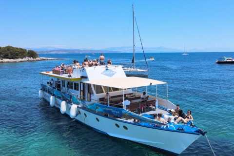 Split: Blue Lagoon & 3 Islands Boat Cruise with Lunch