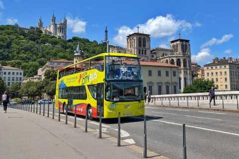 Lyon City Hop-on Hop-off Sightseeing Bus Tour