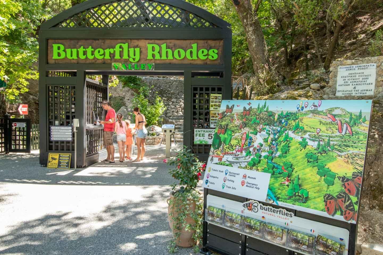 Rhodos: Butterfly Valley Trip mit Hin- und Rücktransfer