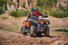 Pattaya: Tour Off-Road ATV Avançado de 2 Horas com Refeição