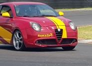 Mailand: Alfa Romeo MiTo Rennstrecken-Testfahrt