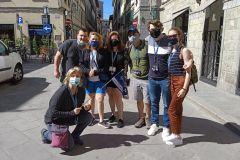 Florença: Excursão a Pé Uffizi e Academia em Grupo Pequeno