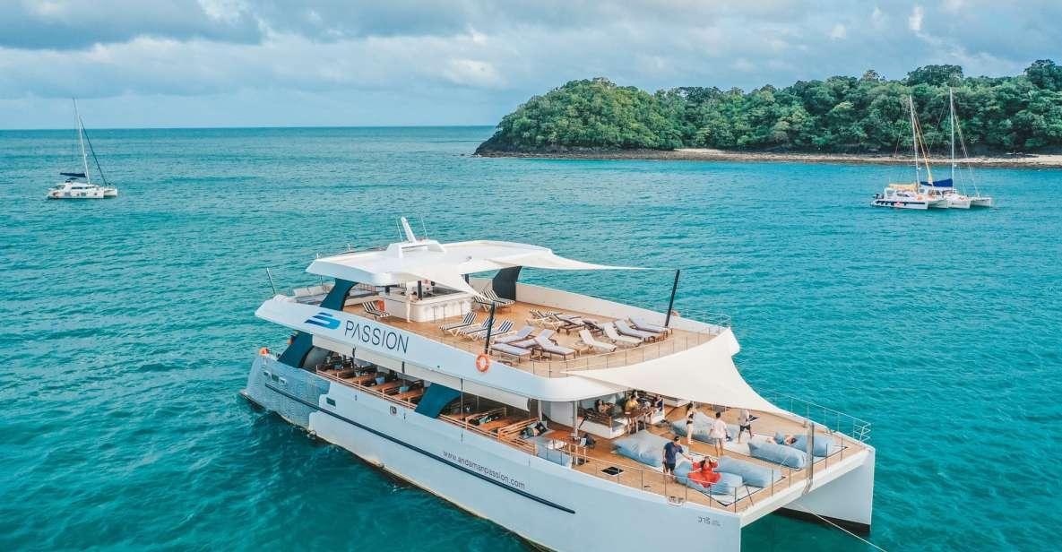 Phuket : croisière de luxe sur l'île avec déjeuner et dîner au coucher du soleil