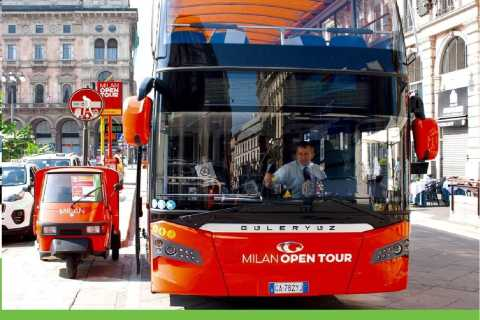 Milan Open Tour by Bus: 1-Day Ticket