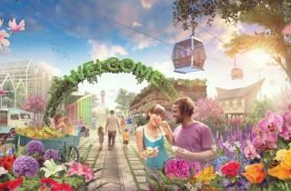 Ab Amsterdam: Floriade Expo & Zaanse Schans Ganztagestour