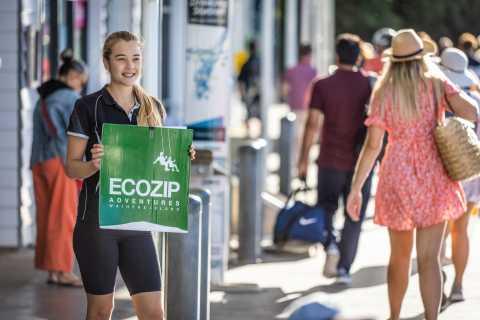 Waiheke Island: Zipline- und Urwaldabenteuer