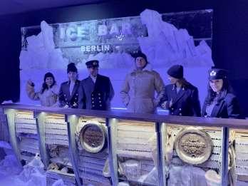 Cocktails in der Icebar Berlin
