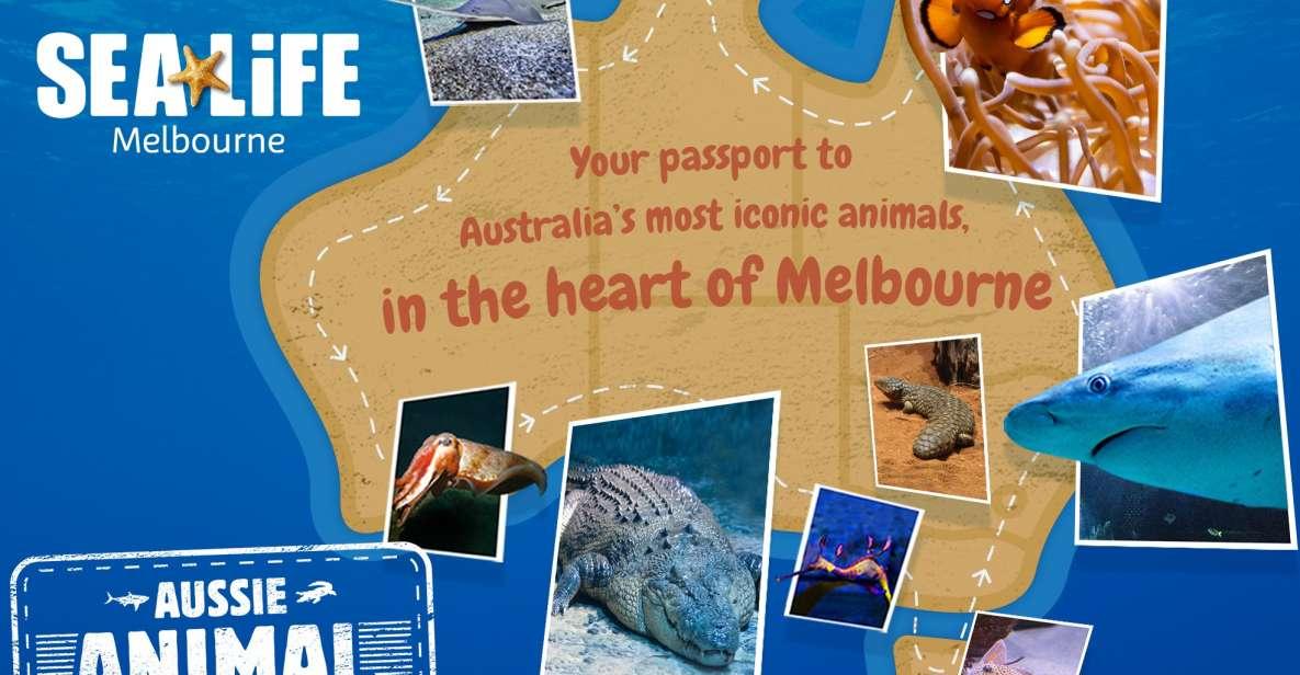Melbourne: SEA LIFE Aquarium Entrance Ticket