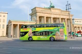 Berlin: Hop-On/Hop-Off-Sightseeing-Bus mit Boots-Optionen