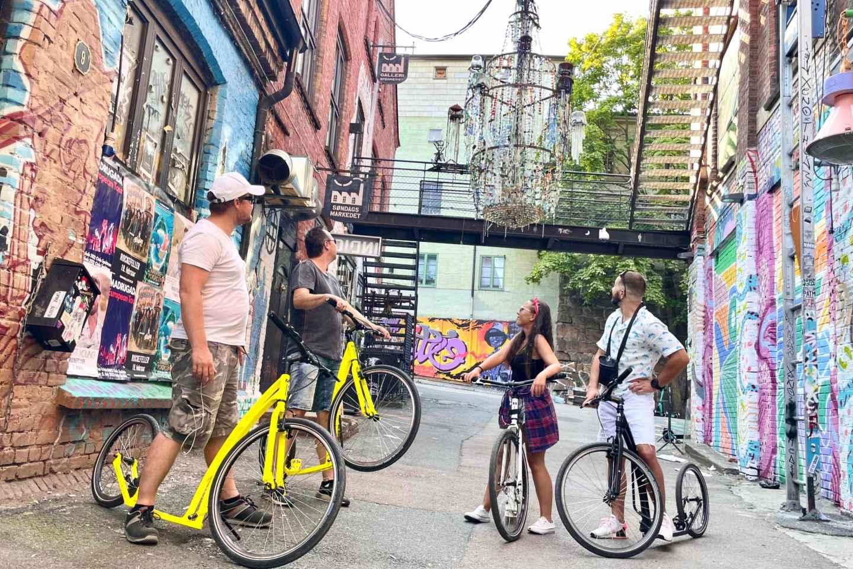 Olso: Akerselva Trail auf trendigen Kickbikes