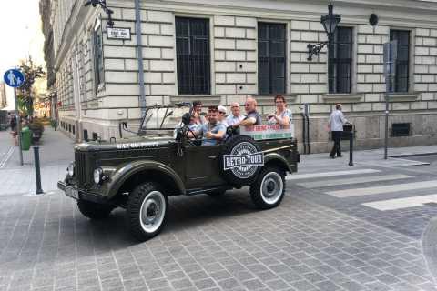 Budapest: tour di 3 ore con una jeep russa