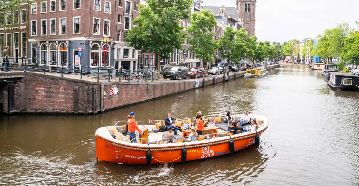 Amsterdam: Luxury Canal City Cruise