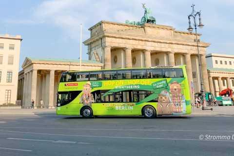 Berlim: Ônibus de turismo panorâmico com opções de barco