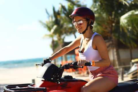 Desde Cancún: ATV Jungle Trail Adventure y Beach Club