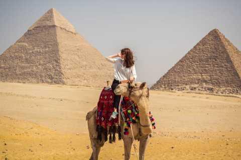 Hurghada: Pyramider og National Museum of Civilization