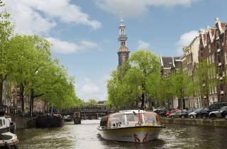 Amsterdam: Grüne Expo, Zaanse Schans & Kanalfahrt/5D-Flug