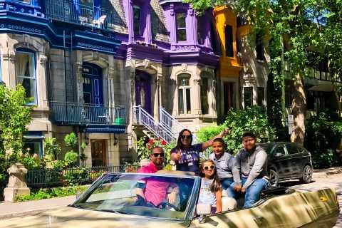 Montréal : visite guidée en Cadillac décapotable d'époque
