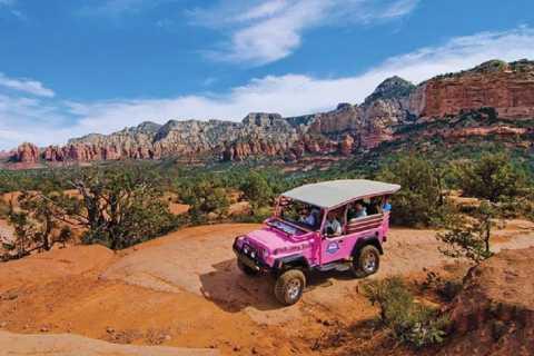 From Phoenix/Scottsdale: Sedona Red Rock Run Jeep Tour
