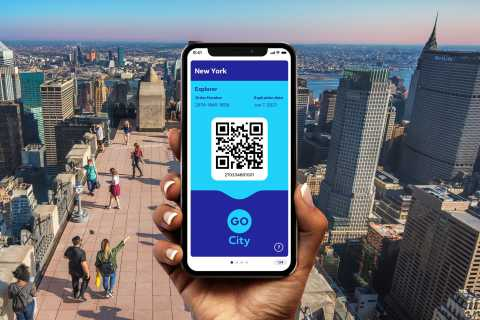 New York: Go City Explorer Pass with 95+ Tours & Attractions
