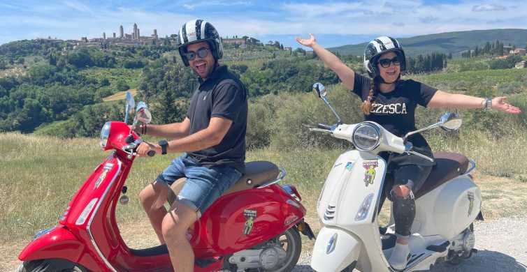 Florence: Vespa Tour to San Gimignano With Lunch