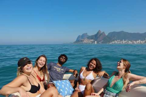 Rio de Janeiro: Best Beaches Boat Tour with Free Beers