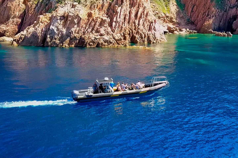 Korsika: Bootsausflug