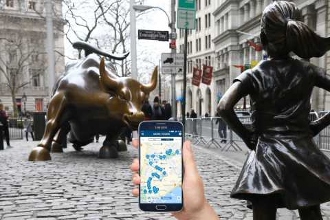 NYC: Wall Street Self-Guided Walking Tour