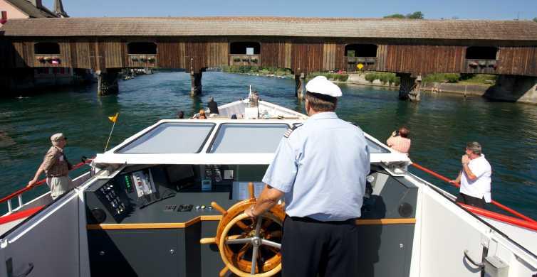 Schaffhausen: boleto de un día en crucero por el río al lago de Constanza