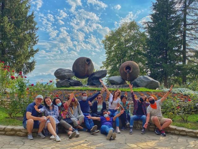 Vanuit Tbilisi: daguitstap met groep naar wijnregio Kakheti