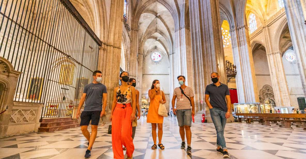 Seville: Alcazar, Cathedral, and Giralda Guided Tour Combo