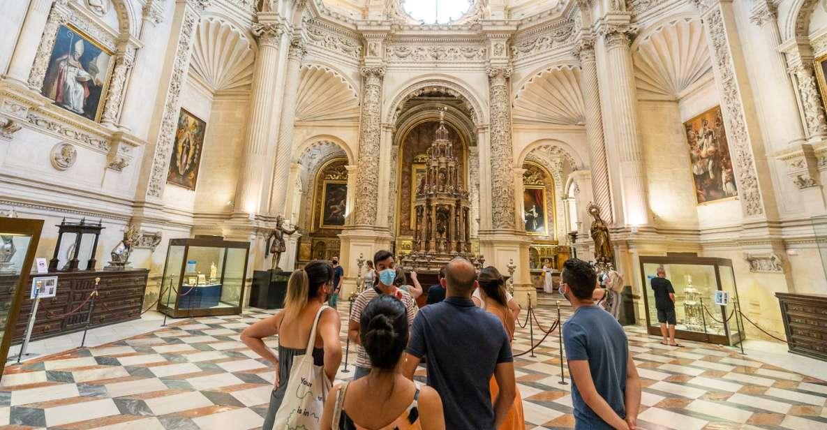 Sevilla: Combo med guidet tur til Alcazar, katedralen og Giralda