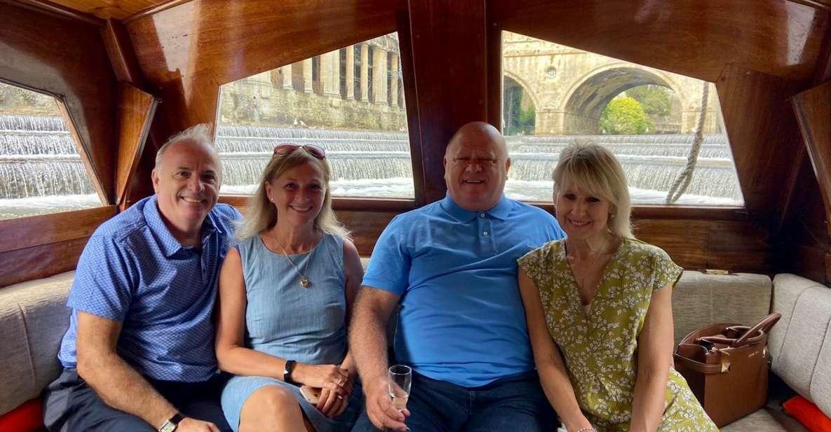 Bath: 25-minütige Bootsfahrt durch die Stadt zur Pulteney Bridge