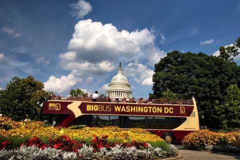 Washington DC: autobus urbano hop-on hop-off con crociera sul fiume