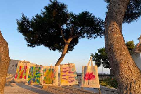 Ibiza: Walking Tour of Dalt Vila with Art Workshop