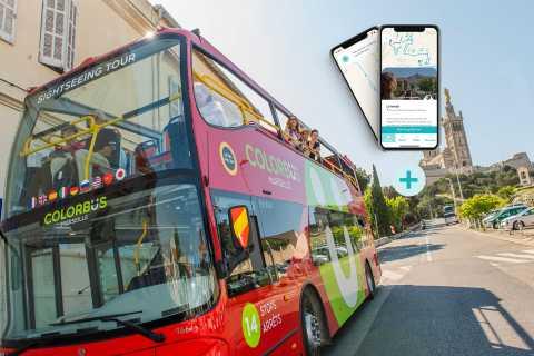 Marseille: Hop-On Hop-Off Bus Tour and Secret Panier Tour