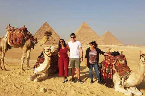 Sharm El-Sheikh: Ganztägige Tour durch Kairo und Pyramiden mit dem Bus