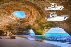 De Portimão: Passeio de Barco ao Algar de Benagil