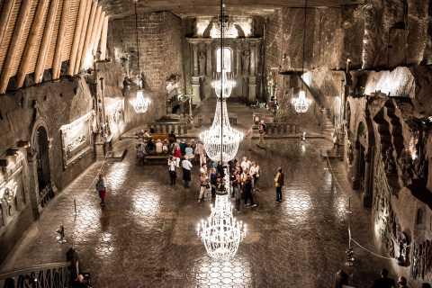 Krakow: Wieliczka Salt Mine Tour with Hotel Pickup