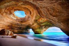 Portimão: Cavernas Benagil e Passeio de Barco na Marinha