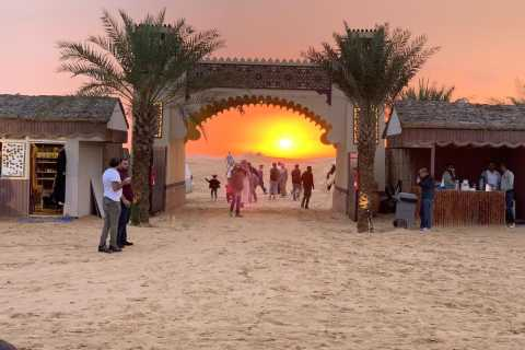 Safari nel deserto con barbecue, danza del ventre e Tannura