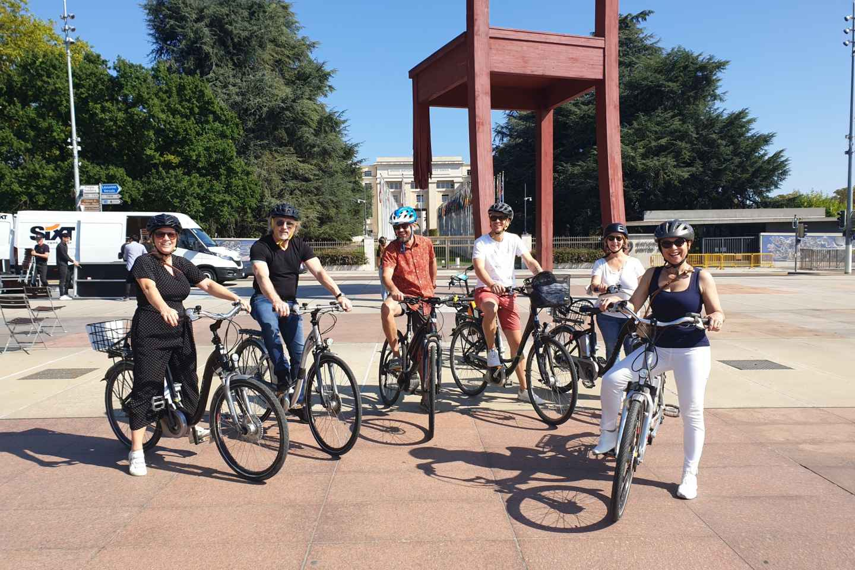 Genf: E-Bike-Tour zum See und in der Altstadt der Vereinten Nationen