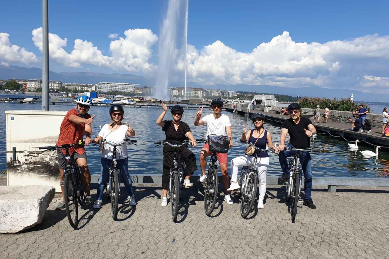 Genf: 1,5-stündige E-Bike-Tour