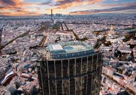 Aktivitäten Paris - Tour Montparnasse: 360-Grad-Paris-Blick von der Dachterrasse