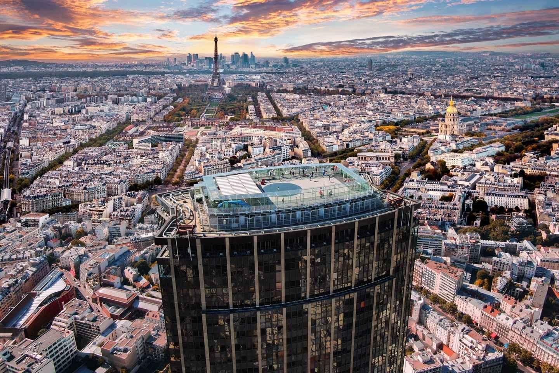 Tour Montparnasse: 360-Grad-Paris-Blick von der Dachterrasse