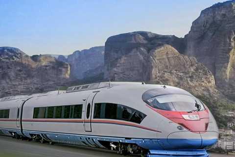 Метеоры: поездка на целый день на поезде из Афин
